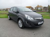 2014 VAUXHALL CORSA 1.4 SE 5Dr AUTO 98 BHP 15800 MILES, 1 OWNER, FULL HISTORY £8595.00