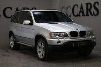 USED 2002 52 BMW X5 3.0 SPORT 24V 5d 228 BHP SAT NAV FULL GREY LEATHER