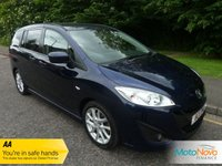 USED 2011 11 MAZDA MAZDA 5 1.6 SPORT D 115PS 5d 113 BHP VERY WELL APPOINTED MAZDA 5 DIESEL WITH FULL LEATHER, ELECTRIC SLIDING REAR DOORS, AIR CONDITIONING, CRUISE CONTROL, ALLOY WHEELS AND SERVICE HISTORY