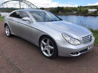 USED 2006 05 MERCEDES-BENZ CLS CLASS 3.0 CLS320 CDI 4d 222 BHP **FULL BLACK LEATHER**