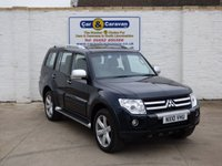 USED 2010 10 MITSUBISHI SHOGUN 3.2 GLS DIAMOND LWB DI-D 5d AUTO 167 BHP 7 SEATS SAT NAV FULL LEATHER