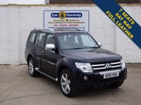 USED 2010 10 MITSUBISHI SHOGUN 3.2 GLS DIAMOND LWB DI-D 5d AUTO 167 BHP 7 Seats SAT-NAV Full Leather 0% Deposit Finance Available