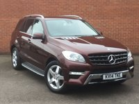 USED 2014 MERCEDES-BENZ M CLASS ML250Cdi Sport Automatic