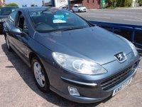 2007 PEUGEOT 407 2.0 SE HDI 4d 135 BHP £2495.00