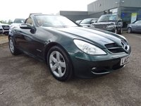 USED 2007 07 MERCEDES-BENZ SLK 1.8 SLK200 KOMPRESSOR 2d AUTO 161 BHP 1 OWNER 8 MAIN DEALER SERVICE STAMPS SERVICED AT 7614M 15515M 20911M 26021M 30392M 37639M 42216M 45577M ALL AT MERCEDES BENZ CHELSEA VERY HIGH SPECIFICATION INCLUDING FACORY EXTRAS COSTING 5 SPEED AUTOMATIC TRANSMISSION  £1480 VAVONA WOOD TRIM £655 SPECIAL METALIC PAINT VERY RARE £620 PARKTRONIC £605 TELEPHONE PRE WIRING WITH HANDS FREE £430 CD CHANGER 6 £360 AIRSCARF £350 HEATED SEATS £320 ALLOY WHEELS 5 SPOKE £245 FOLDING EXTERIOR MIRRORS £195 TOTAL COST OF XTRAS £5280  SAT NAV WITH DISC HPI C