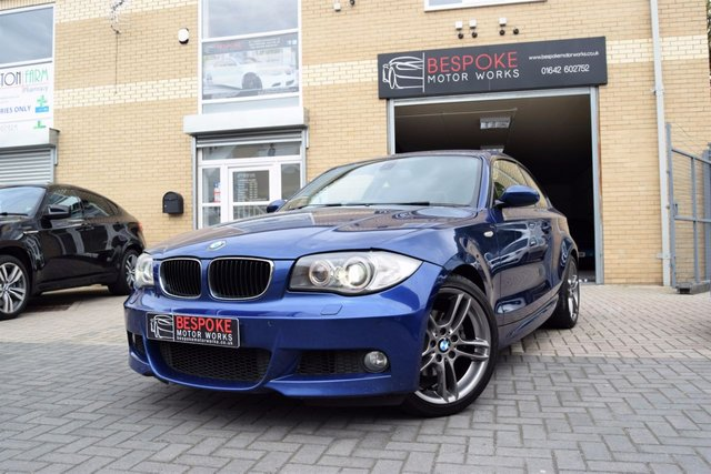 2007 57 BMW 1 SERIES 120D M SPORT COUPE MANUAL