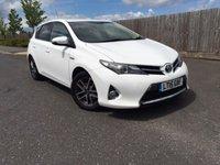 2015 TOYOTA AURIS 1.8 VVT-I ICON PLUS 5d AUTO 98 BHP £10000.00