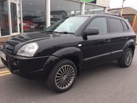 USED 2007 07 HYUNDAI TUCSON 2.0 XENITH 4WD 5d 139 BHP