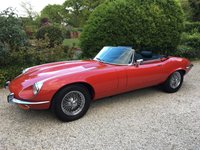 USED 1972 L JAGUAR E-TYPE 5.3 1d  STUNNING CONDITION 35000 MILES 2 OWNERS LAST SINCE 1 YEAR OLD RECIEPTS BILLS OLD MOTS TAX DISCS ANY UPDATES ORIGINAL PARTS KEPT [WHEELS INTERIOR ETC]