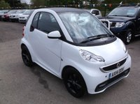 USED 2014 14 SMART FORTWO 1.0 EDITION 21 MHD 2d AUTO 71 BHP 1 OWNER, FULL MAIN DEALER SERVICE HISTORY, STUNNING EXAMPLE THROUGHOUT, DRIVES SUPERBLY, GREAT FUN !!!!!