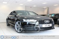 2016 AUDI A6 SALOON 2.0 TDI ULTRA BLACK EDITION 4d AUTO 190 BHP £25985.00