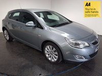 USED 2011 61 VAUXHALL ASTRA 1.6 ELITE 5d AUTO 113 BHP HISTORY-LEATHER-HEATED SEATS-A/C