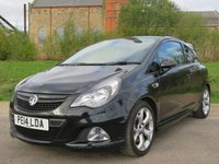 USED 2014 14 VAUXHALL CORSA 1.6 VXR 3d 189 BHP GREAT PERFORMANCE AND LOOKS!!