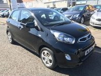USED 2011 61 KIA PICANTO 1.0 1 5d 68 BHP PRICE INCLUDES 1 YEARS MOT AND A OIL & FILTERS SERVICE. 12 MONTHS FREE BREAKDOWN COVER KIA WARRANTY