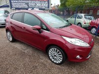 USED 2011 11 FORD FIESTA 1.6 TITANIUM 5d 118 BHP 2 OWNERS, FULL SERVICE HISTORY, LOVELY EXAMPLE