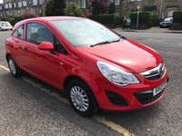 USED 2013 13 VAUXHALL CORSA 1.0 S ECOFLEX 3d 64 BHP PRICE INCLUDES A 6 MONTH AA WARRANTY DEALER CARE EXTENDED GUARANTEE, 1 YEARS MOT AND A OIL & FILTERS SERVICE. 12 MONTHS FREE BREAKDOWN COVER