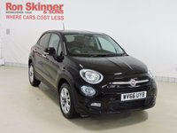 USED 2016 66 FIAT 500X 1.6 MULTIJET POP STAR 5d 120 BHP with Privacy Glass