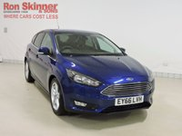 USED 2016 66 FORD FOCUS 1.5 ZETEC TDCI 5d 118 BHP with Appearance Pack + Sat Nav + Rear Park Assist with Appearance Pack + RPA + Sat Nav