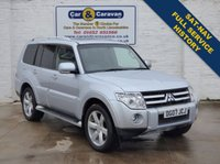 USED 2007 07 MITSUBISHI SHOGUN 3.2 GLS DIAMOND LWB DI-D 5d AUTO 167 BHP SATNAV Full History 7 Seat 0% Deposit Finance Available