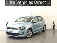 USED 2011 11 VOLKSWAGEN POLO 1.2 BLUEMOTION TDI 5d 74 BHP
