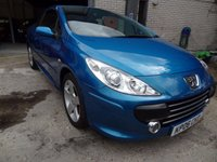 2006 PEUGEOT 307 2.0 SE COUPE CABRIOLET HDI 2d 136 BHP £2500.00