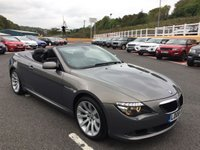 USED 2008 08 BMW 635 CABRIOLET 3.0 635D SPORT 2d AUTO 282 BHP High specification 6-Series with powerful yet economical twin turbo diesel