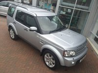 2011 LAND ROVER DISCOVERY 3.0 4 SDV6 XS 5d AUTO 245 BHP £23000.00
