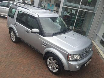 2011 LAND ROVER DISCOVERY 3.0 4 SDV6 XS 5d AUTO 245 BHP £22500.00