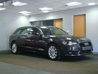 USED 2012 12 AUDI A6 2.0 AVANT TDI SE 5d AUTO 175 BHP SATELLITE NAVIGATION