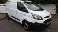 2013 FORD TRANSIT CUSTOM 290 2.2 100 BHP L2 H1 - CHOICE OF 70 VANS £8595.00