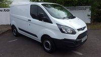 2014 FORD TRANSIT CUSTOM 270 2.2 100 BHP L1 H1 - CHOICE OF 70 VANS £9495.00