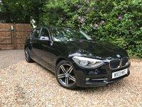 2013 BMW 1 SERIES 1.6 116I SPORT 5d 135 BHP £10789.00