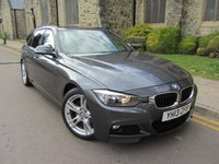 2013 BMW 3 SERIES 2.0 318D M SPORT TOURING 5d 141 BHP £12595.00