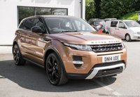 USED 2014 14 LAND ROVER RANGE ROVER EVOQUE 2.2 SD4 DYNAMIC 5d AUTO 190 BHP SOLD TO SCISSOR WOOD