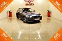 """USED 2013 13 BMW 1 SERIES 2.0 116D SPORT 3d 114 BHP 1 OWNER + £30 ROAD TAX + 17"""" 5 TWIN SPOKE BRIGHT TURNED DIAMOND CUT ALLOYS"""