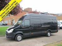 USED 2014 14 IVECO-FORD DAILY 2.3 35S13 XLWB EXTRA HIGH ROOF. 126 BHP. 1 OWNER.  RARE 4.7 METER VAN. LOW RATE FINANCE. PX WELCOME