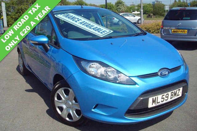 2009 59 FORD FIESTA 1.4 STYLE PLUS TDCI 5d 68 BHP £20 A YEAR ROAD TAX