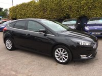 USED 2015 15 FORD FOCUS 1.0 TITANIUM 125 5dr FORD WARRANTY APPLIES  NO DEPOSIT PCP/HP FINANCE ARRANGED, APPLY HERE NOW