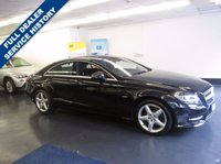 USED 2011 11 MERCEDES-BENZ CLS CLASS 3.0 CLS350 CDI SPORT AMG 4d AUTO 265 BHP FULL MERCEDES SERVICE HISTORY, REAR REVERSING CAMERA, 1 PREVIOUS OWNER