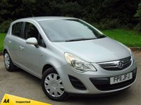 USED 2011 11 VAUXHALL CORSA 1.2 EXCLUSIV AC CDTI ECOFLEX 5d * DIESEL * ECONOMICAL * AVERAGE 67.3 MILES PER GALLON *