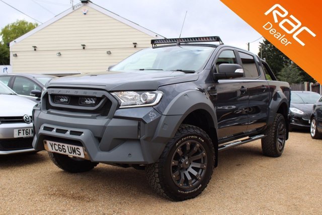 View our 2016 66 FORD RANGER 3.2 LIMITED 4X4 DCB TDCI 1d 197 BHP