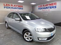 USED 2014 14 SKODA RAPID 1.6 SE TDI CR 5d 104 BHP Air Conditioning , Cruise Control , Superb MPG
