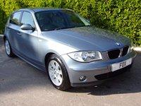 2006 BMW 1 SERIES 2.0 118I SE 5d AUTO 128 BHP £4500.00