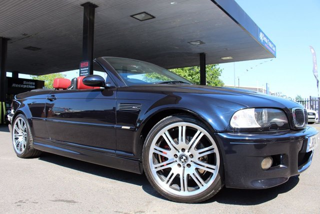 BMW M3 at Derby Trade Cars