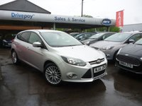 USED 2014 64 FORD FOCUS 1.6 ZETEC NAVIGATOR TDCI 5d 113 BHP PLEASE CALL TODAY FOR TEST DRIVE ALL CARS AA INSPECTED