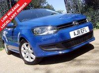 2011 VOLKSWAGEN POLO 1.4 SE 5d 85 BHP £6499.00