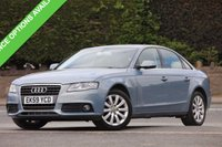 USED 2009 59 AUDI A4 2.0 TDI SE 4d 143 BHP Finance options available