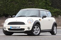 USED 2009 59 MINI HATCH ONE 1.4 ONE 3d 94 BHP Serviced @ 51,123 - 27/03/2017