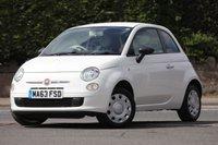 USED 2013 63 FIAT 500 1.2 POP 3d 69 BHP
