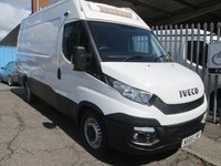 2015 IVECO-FORD DAILY 35S13 THERMO KING FRIDGE VAN + STANDBY 14000 MILES £19995.00